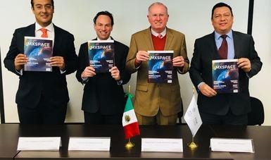 "Presentan en AEM revista ""MXSPACE Magazine"""