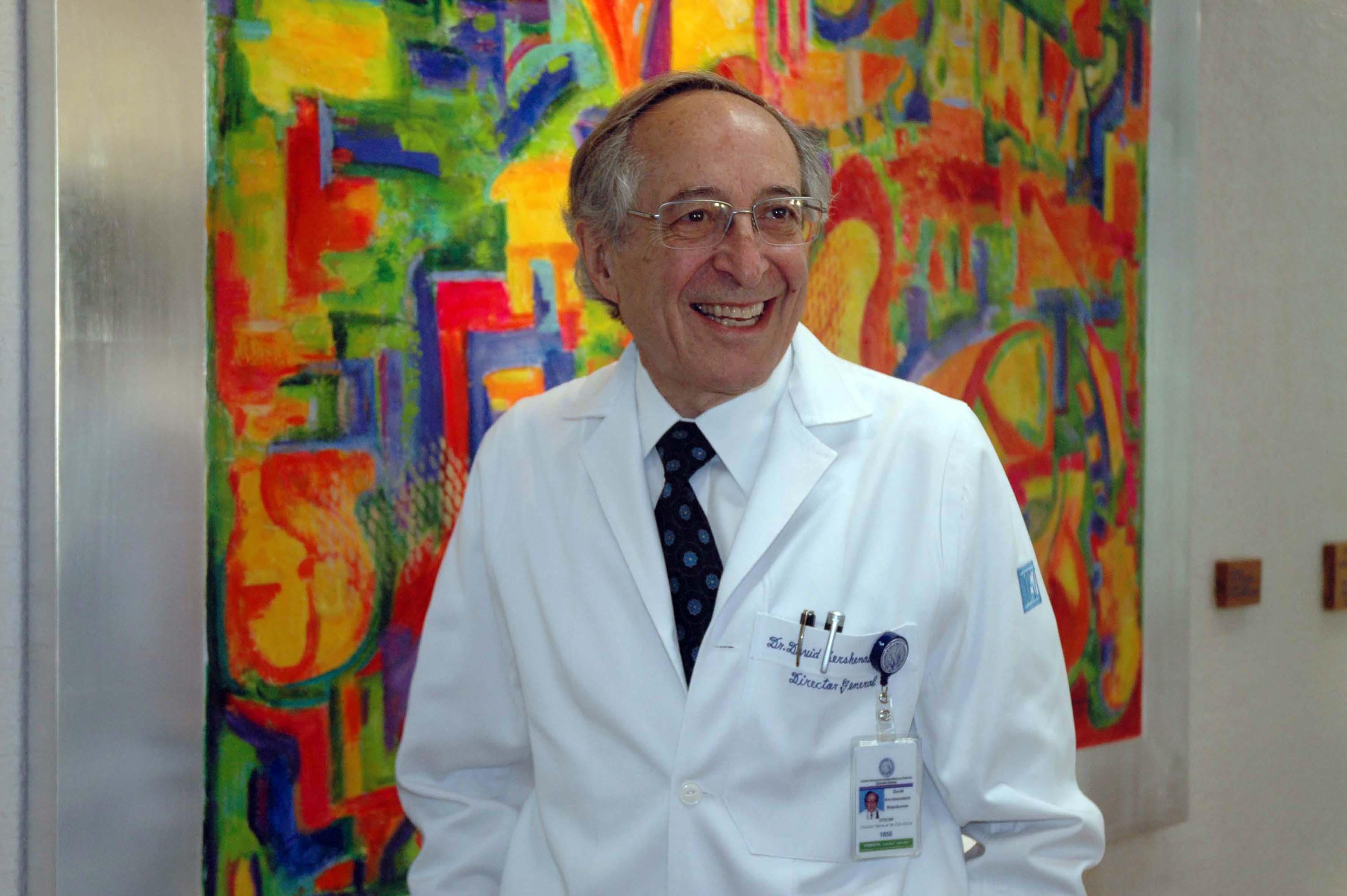"""Doctor David Kershenobich, director general del Instituto Nacional de Ciencias Médicas y Nutrición """"Dr. Salvador Zubirán"""""""