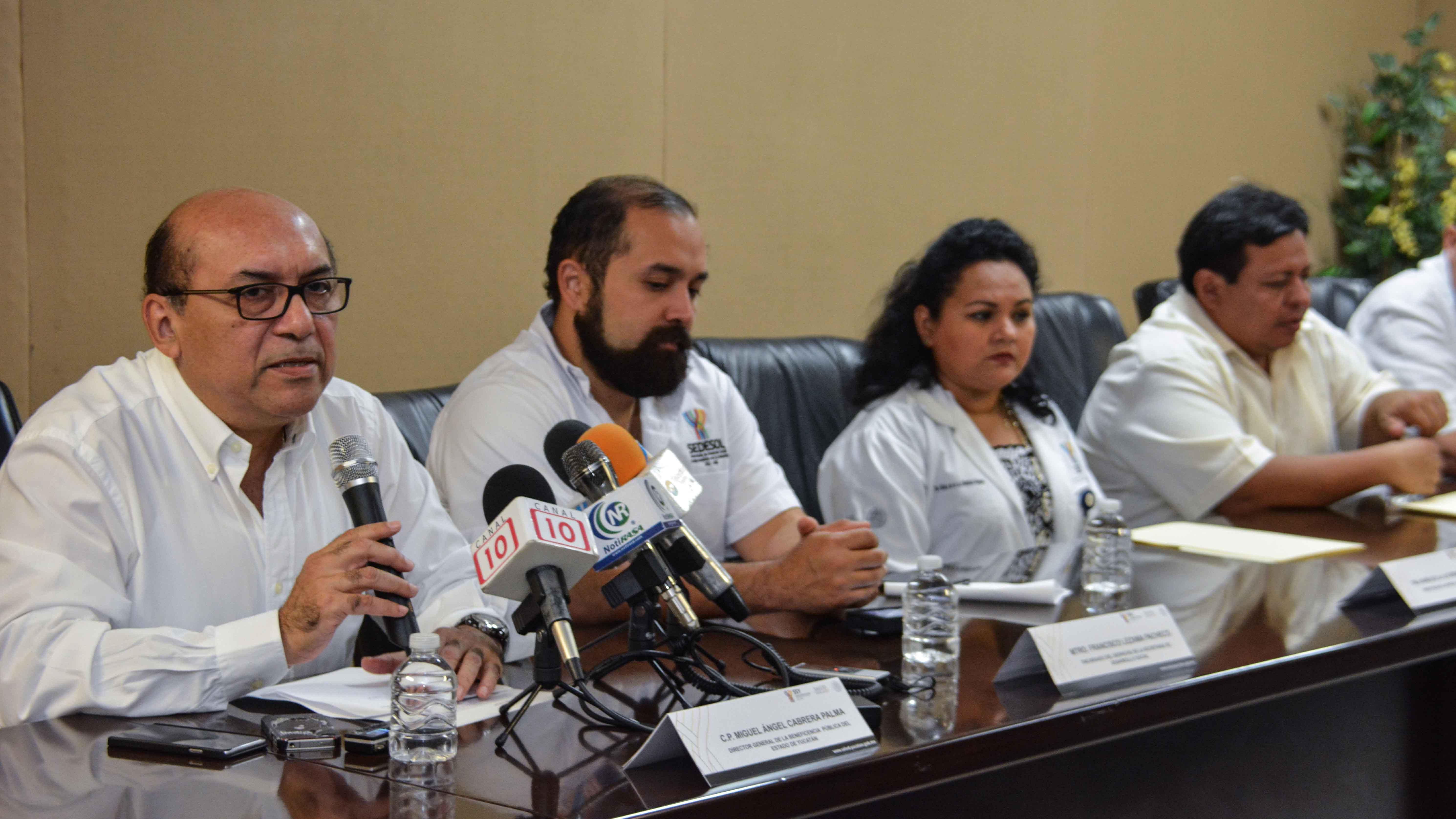 La Beneficencia Pública del Estado, aportará las prótesis con lo que se beneficiará a pacientes de escasos recursos