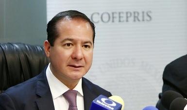 COFEPRIS cumple con su compromiso con la salud de los mexicanos y seguirá trabajando: Sánchez y Tépoz