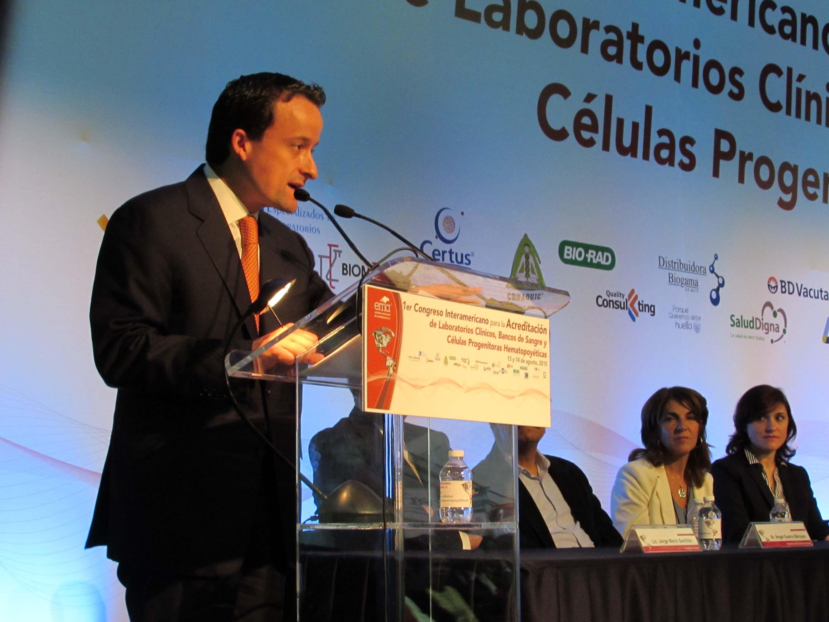 Se continuará promoviendo la acreditación de laboratorios clínicos para prevenir riesgos a la salud pública