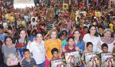 Titular de DIF Nacional, realiza gira de trabajo en el estado de Chiapas.
