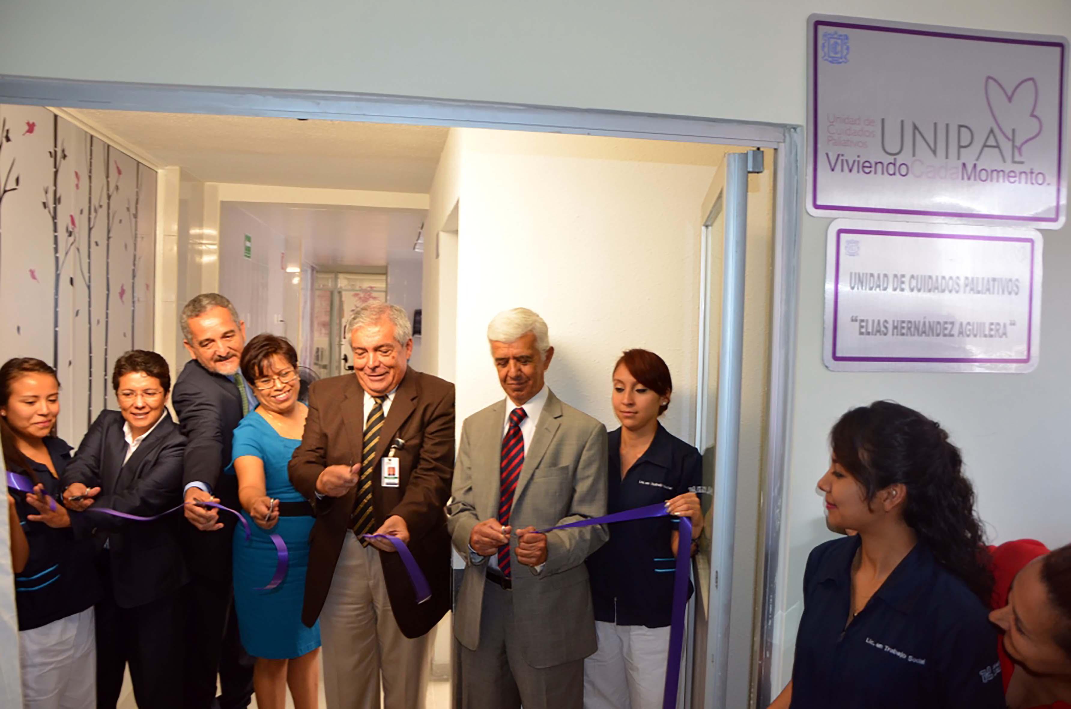 """Se puso en marcha la Unidad de Cuidados Paliativos """"Elías Hernández Aguilera"""" en el Hospital Central """"Dr. Ignacio Morones Prieto"""""""