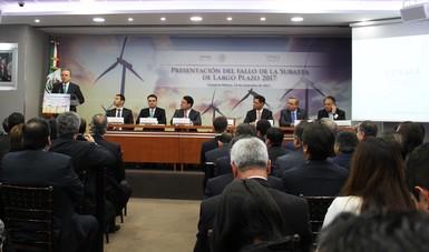 En la tercera Subasta Eléctrica mexicana se obtuvo uno de los precios más bajos internacionalmente: PJC