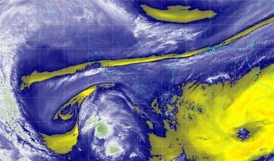 Se prevén lluvias muy fuertes en regiones de Oaxaca y Chiapas, debido al Frente Frío No. 18.