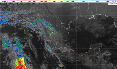 Viento del norte con rachas mayores a 50 km/h se pronostican para el Istmo y el Golfo de Tehuantepec.