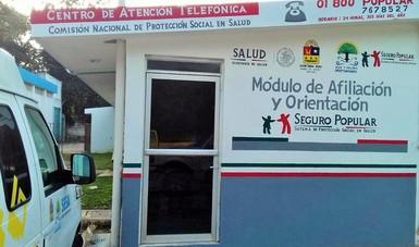 Se dignificaron los módulos de atención y orientación, ubicados en los hospitales comunitarios de Kantunilkil, en Lázaro Cárdenas y en el municipio de José María Morelos, como parte de la estrategia de intervención integral.