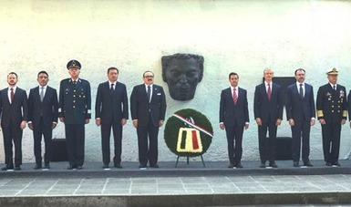 """José Narro Robles expresó su reconocimiento al Presidente de México por """"su trabajo, la tenacidad y consistencia del esfuerzo realizado, y de forma especial, la claridad de su visión y los logros conseguidos""""."""