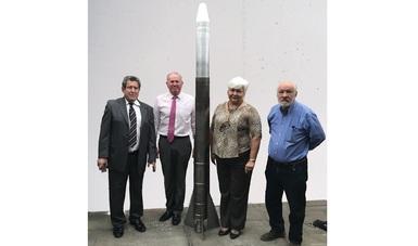 Impulsa AEM capacidades nacionales en el desarrollo de cohetes científicos