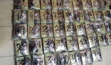 Fuerzas de Seguridad aseguran en Reynosa, Tamaulipas 981 Mil 140 Dólares deprocedencia ilícita