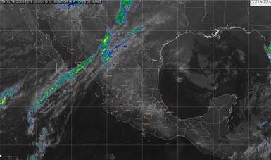 Se pronostica nieve o aguanieve en la sierra de San Pedro Mártir, Baja California y el norte de Sonora.