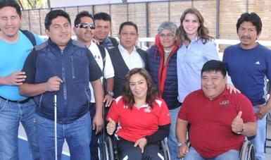 Laura Barrera Fortoul, inauguró la rehabilitación de la Unidad Deportiva del Sistema DIF Oaxaca.