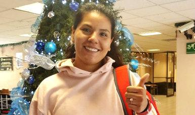 Alejandra Terán, esgrimista mexicana