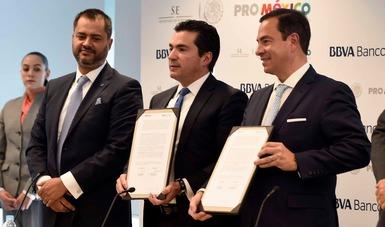 ProMéxico y BBVA Bancomer, socios estratégicos en la misión de negocios internacionales para México