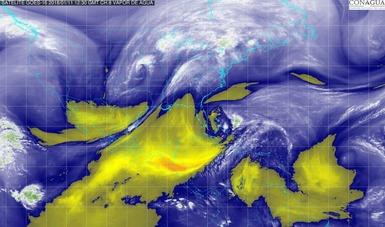 Se pronostica descenso de temperatura, vientos fuertes y tolvaneras en el norte y el noreste de México.