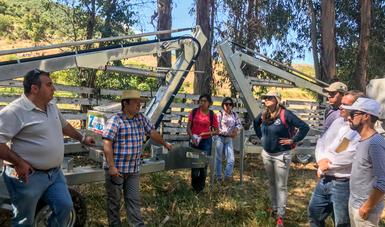 El curso surgió de la visita que el titular de la SAGARPA, José Calzada Rovirosa, realizó a la República de Chile.