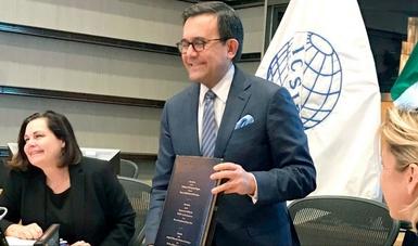 México firma el Convenio sobre Arreglo de Diferencias Relativas a Inversiones entre Estados Nacionales y de Otros Estados