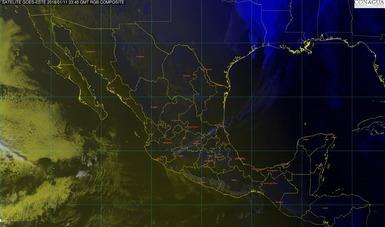 Evento de Norte con rachas mayores a 70 km/h se pronostica para esta noche en las costas de Tamaulipas y Veracruz
