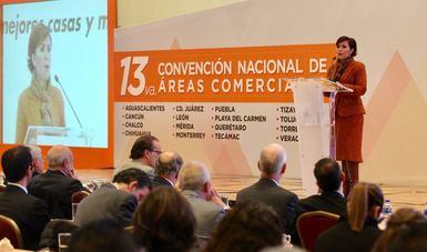 En el evento la Titular de la SEDATU detalló los avances de la Política Nacional de Vivienda del Presidente Enrique Peña Nieto.