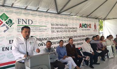 Marco Antonio Estrada Ayala, Coordinador Regional Noroeste, acudió al evento en representación del titular de la FND, Mario Zamora Gastelum