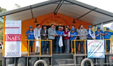Srio. Eviel Pérez Magaña en gira de trabajo en Chiapas