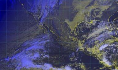 Descenso de temperatura, vientos fuertes y posibles nevadas o aguanieve, se prevén en el noroeste y el norte de México.
