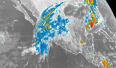 Hoy se pronostican tormentas muy fuertes en Veracruz, Oaxaca, Chiapas y Tabasco.