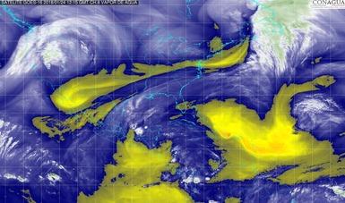 Hoy se prevé el primer temporal de lluvias del año en la Península de Yucatán, el sureste y el oriente de México.