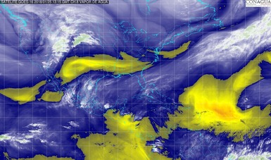 Se mantendrá el pronóstico de tormentas torrenciales en Veracruz y de tormentas intensas en Oaxaca, Chiapas y Tabasco.