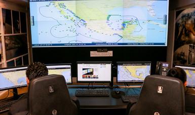 La CONAPESCA monitorea en tiempo real la totalidad de la flota pesquera de altura.