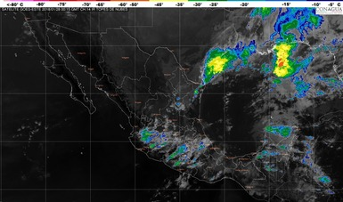 Esta noche se prevén tormentas muy fuertes para Nuevo León, Tamaulipas, Veracruz, Oaxaca y Quintana Roo.