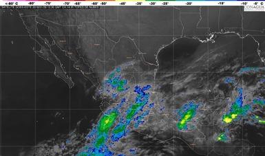 Hoy se pronostican tormentas torrenciales en Chiapas y Tabasco.