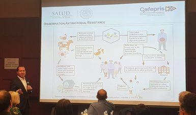 Participa la COFEPRIS en encuentro internacional sobre resistencia  antimicrobiana