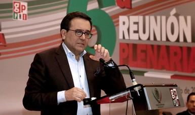 El Secretario de Economía participó en la 6ª Reunión Plenaria del Grupo Parlamentario del Partido Revolucionario Institucional (PRI)