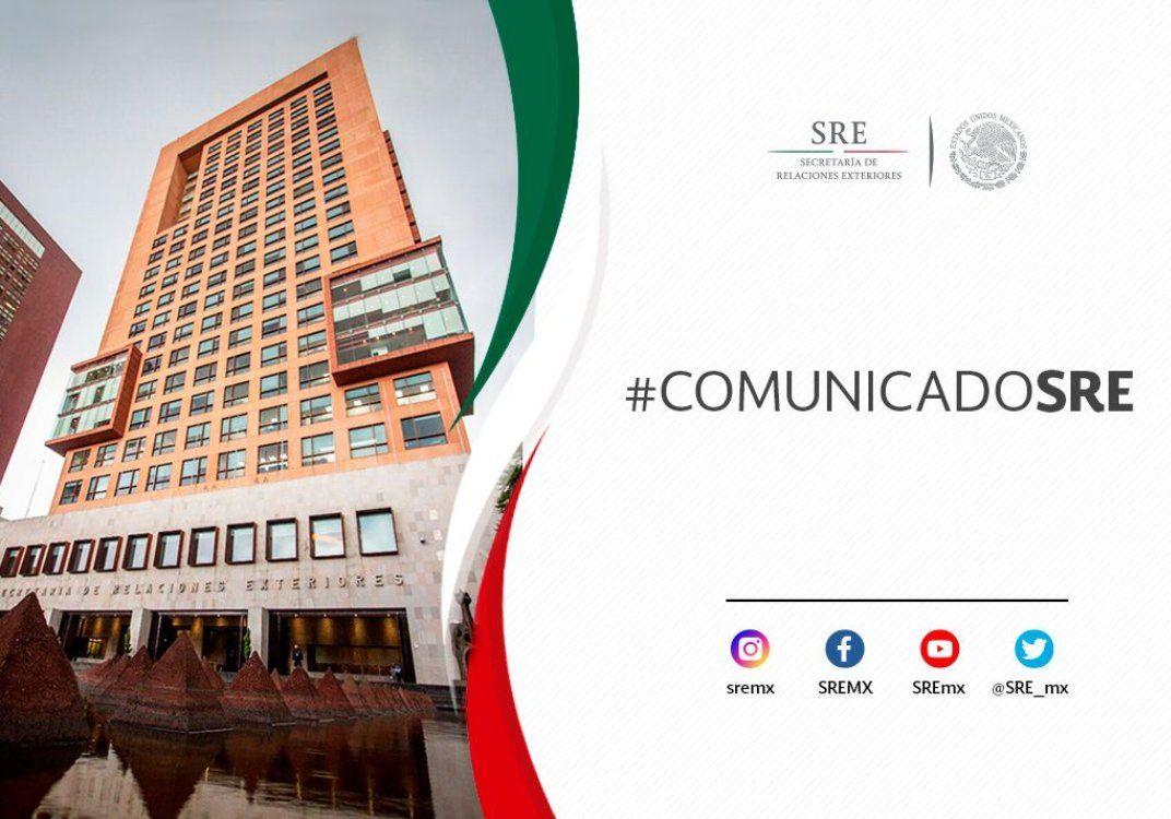 El gobierno de México continúa asistiendo a los familiares de connacional fallecida en Bélgica