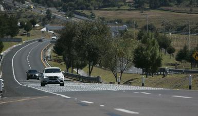 En la imagen se observa el tramo carretero Atlacomulco-Maravatío, operada a través del Nuevo Modelo de Operación de Autopistas