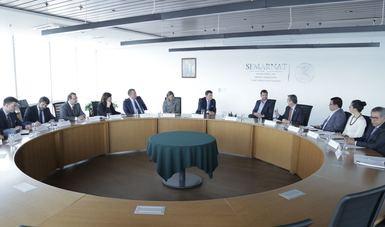 El Secretario Rafael Pacchiano y el Ministro Moreau resaltaron la importancia de la relación entre el Gobierno de Québec y la SEMARNAT, como aliados en la lucha contra el cambio climático y la protección ambiental.