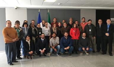Sesión del Grupo de Trabajo Binacional (GTB) para la investigación, la reintroducción en el medio natural y la conservación de los manatíes antillanos (Trichechus manatus manatus).