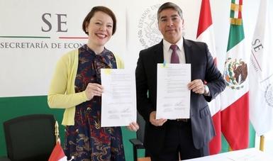 México y Canadá firman Memorándum de Entendimiento