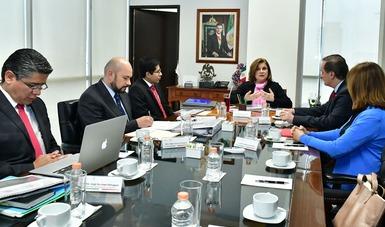 Presenta SFP avances al CCE en trámites administrativos susceptibles de mejora para evitar la corrupción