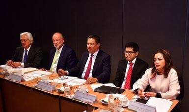 Revisan SFP y GACM avances en las acciones para atender recomendaciones de la OCDE