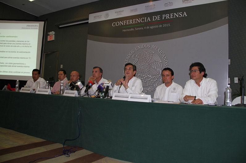 Informe de acciones del Fideicomiso Río Sonora.