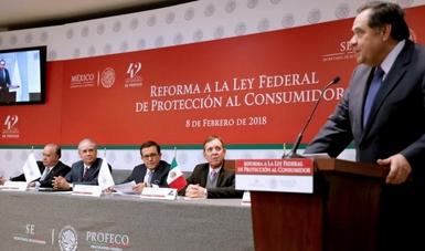 Presentan en PROFECO la Reforma a La Ley Federal del Consumidor