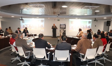 Reunión de trabajo para reforzar su compromiso de fortalecer la estrategia orientada a elevar el estatus zoosanitario de la región en materia de tuberculosis bovina.