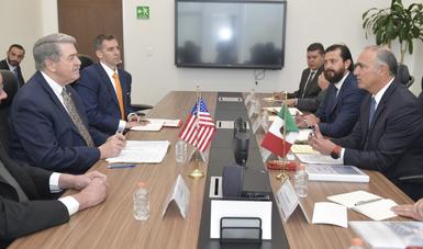 Los funcionarios revisaron temas relacionados con el intercambio comercial de productos agroalimentarios entre ambas naciones