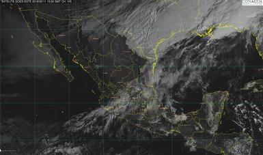 Lluvias fuertes con actividad eléctrica se prevén para Nuevo León, Tamaulipas, Veracruz, Oaxaca, Chiapas y Puebla