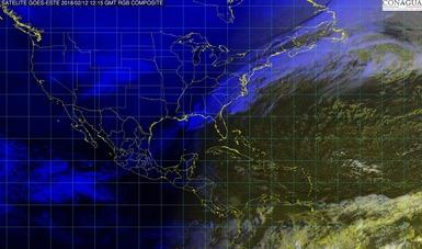 En Tamaulipas, Hidalgo, Puebla, Veracruz, Oaxaca, Chiapas y Tabasco se prevén lluvias fuertes.