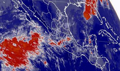 En las siguientes horas se prevé tormentas muy fuertes en el sur de Veracruz y el norte de Oaxaca.