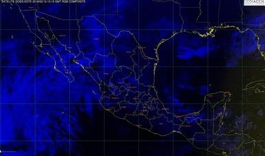 Durante las próximas horas se prevén lluvias intensas en el noreste de Oaxaca.