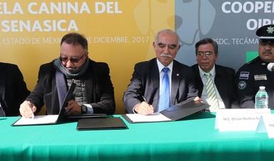 Firma de Acuerdo Específico de Cooperación Técnica con el objetivo de fortalecer los servicios cuarentenarios de países de Centroamérica y El Caribe